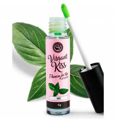 LIP GLOSS VIBRANT KISS - MENTA