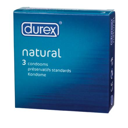 DUREX NATURAL 3 UDS.