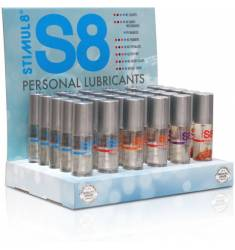 S8 LUBRICANTE PERSONAL DISPLAY 6 MODELOS X 5 UDS