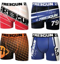 PACK 4 BOXERS MOTORBIKE MULTICOLOR