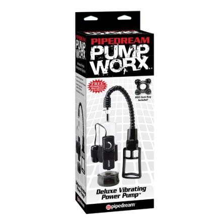 pump worx bomba de ereccion vibradora deluxe
