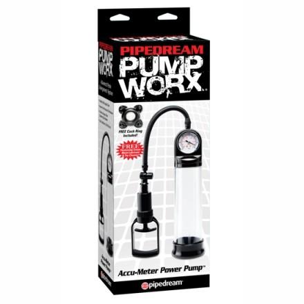 pump worx bomba de ereccion manometro