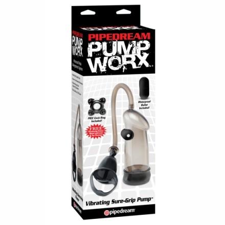 pump worx bomba de ereccion vibradora super prieta