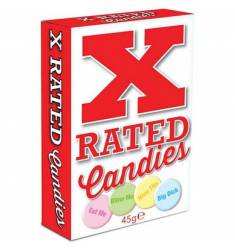 X-RATED CANDIES: CARAMELOS CON MENSAJES