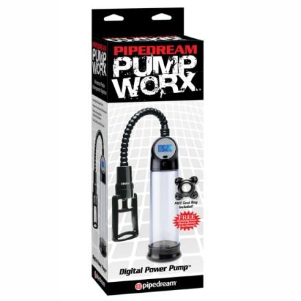 pump worx bomba de ereccion digital