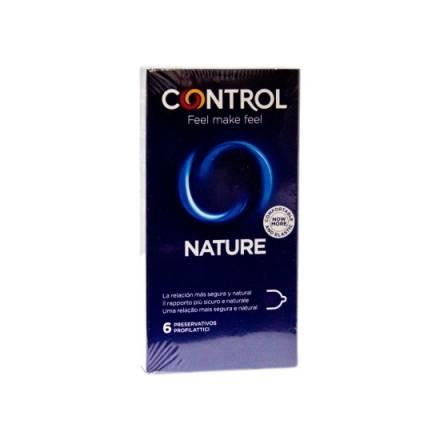 CONTROL PRESERVATIVOS NATURE 6UDS