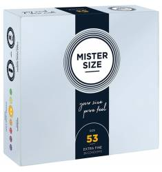 MISTER SIZE 53 (36 PACK) - EXTRA FINO, 53MM