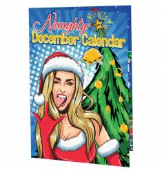 NAUGHTY DECEMBER CALENDARIO DE ADVIENTO