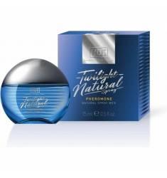 HOT TWILIGHT PERFUME NATURAL CON FEROMONAS EN SPRAY PARA ÉL 15ML