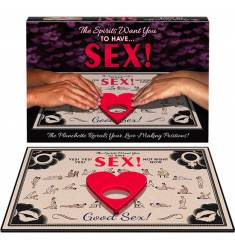KHEPER GAMES - THE SPIRITS WANT YOU TO HAVE SEX