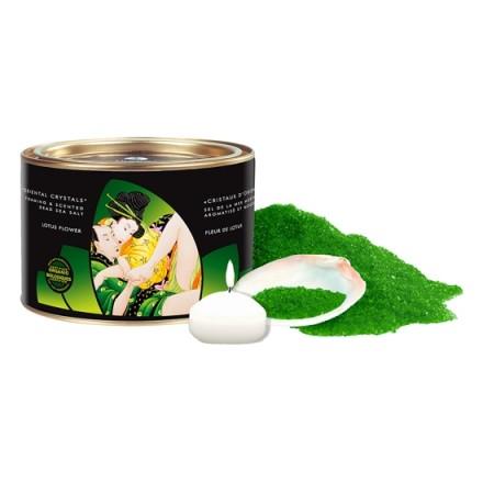 shunga sales de baño aromatizadas flor de loto