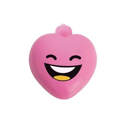 jabon con forma de corazon y bala vibradora frambuesa