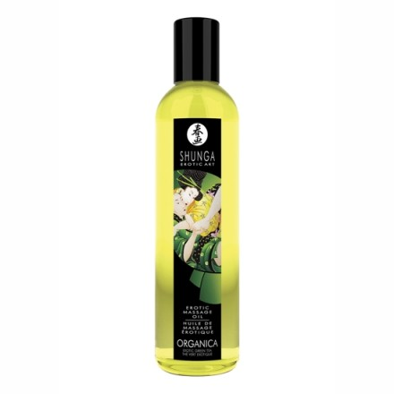 shunga aceite de masaje erotico te verde exotico