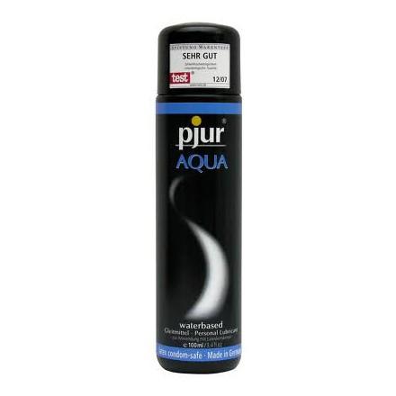 pjur aqua lubricante base agua 100 ml