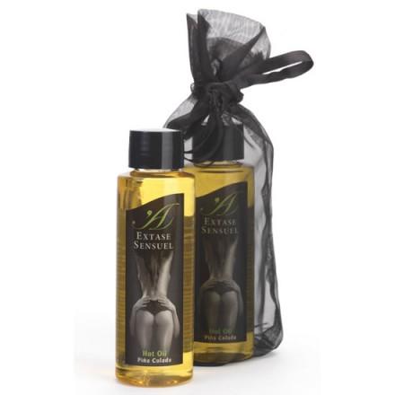extase sensuel aceite de masaje efecto calor piña colada