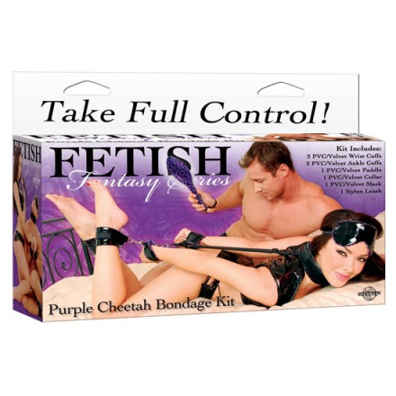 fetish fantasy kit de esclavitud lila