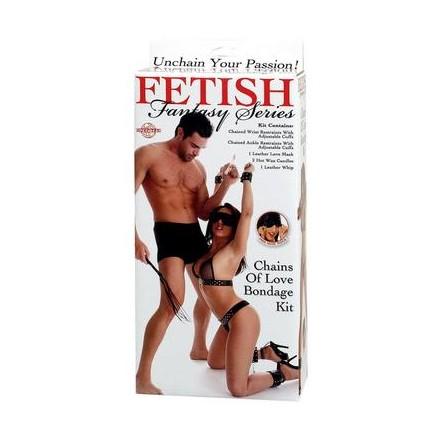 fetish fantasy kit de bondage cadenas del amor