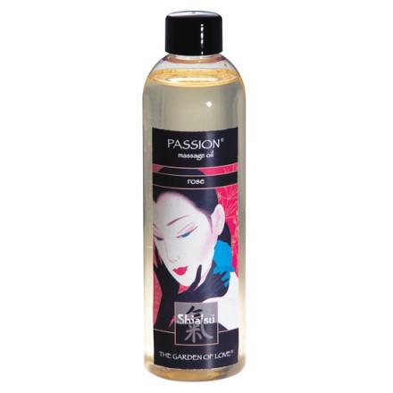 shiatsu aceite afrodisiaco de masaje de rosas