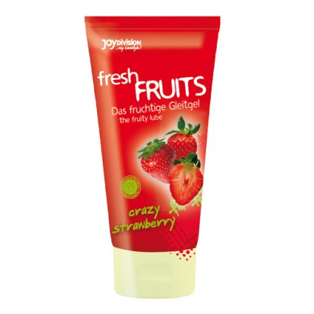 lubricante frutas frescas sabor fresa