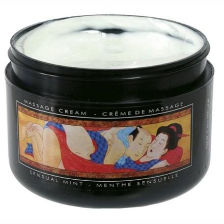 shunga crema de masaje menta sensual