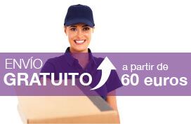 Envio Gratis a partir de 60€